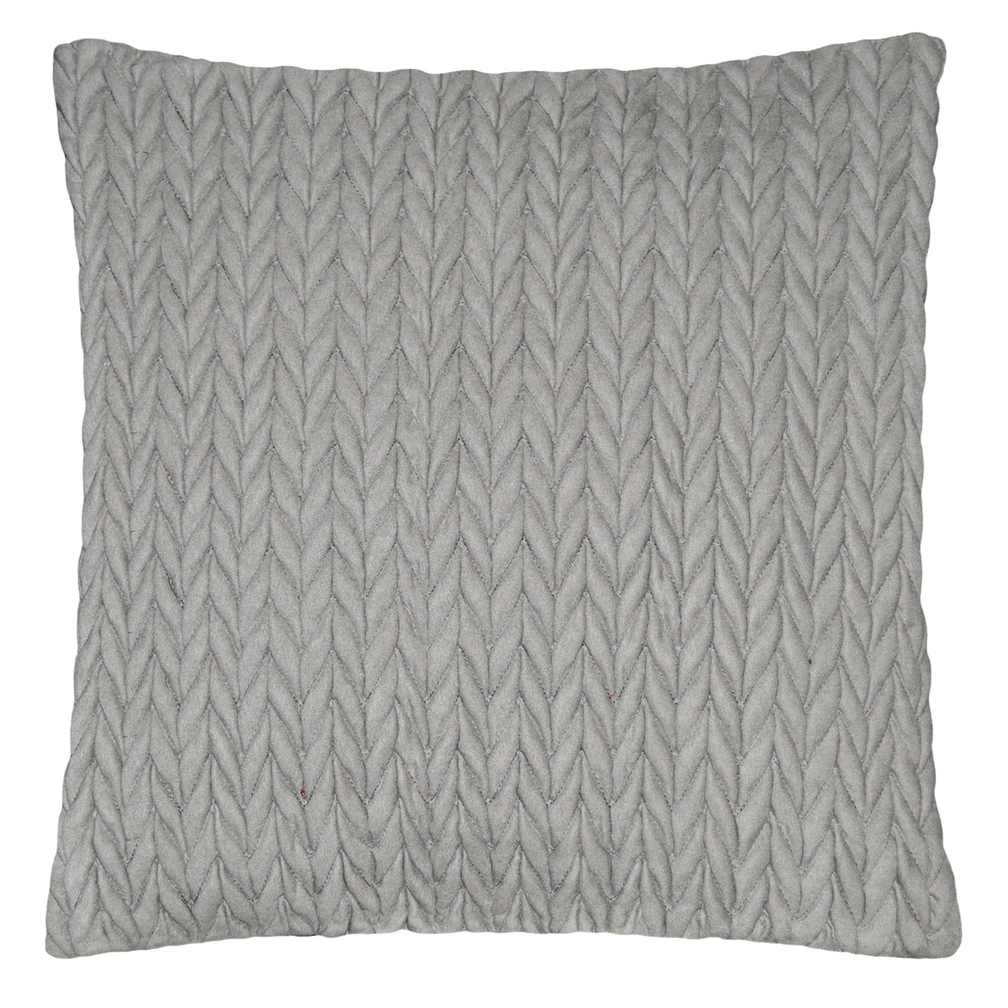 Suede Pucker 18 Inch Square Decorative Pillow