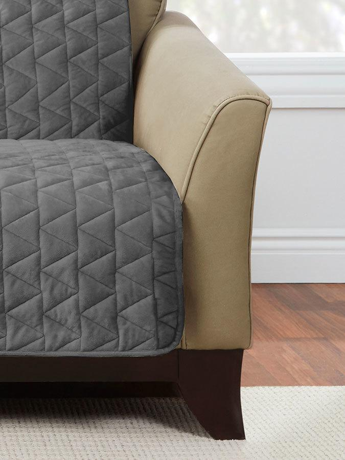 Armless Throw Loveseat Furniture Cover Surefit