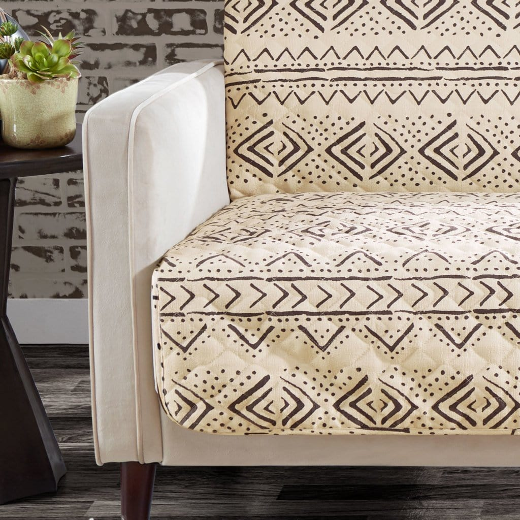 Mud Cloth Furniture Cover Tribal Pattern Cover