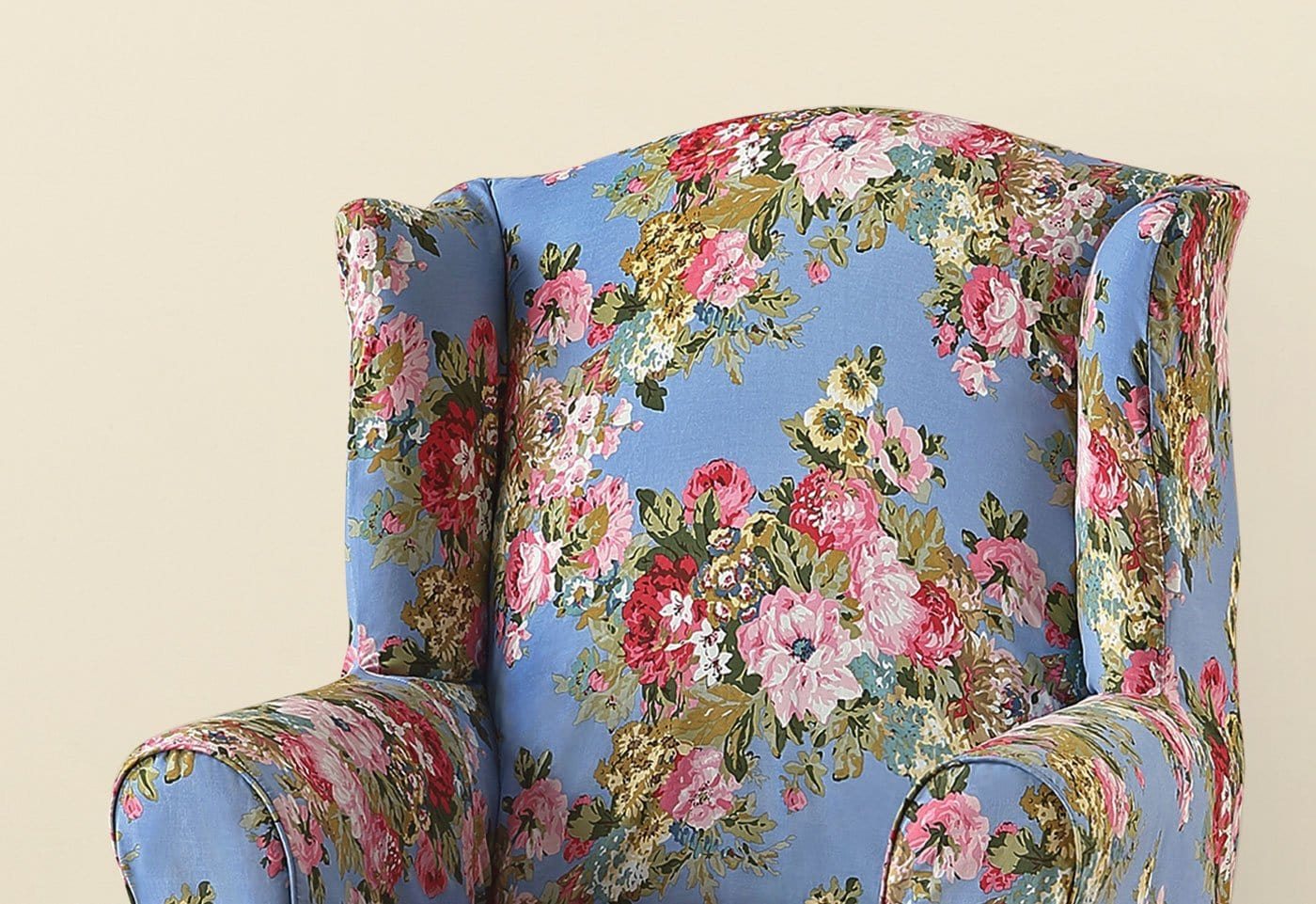 Juliet By Waverly One Piece Wing Chair Slipcover | SureFit