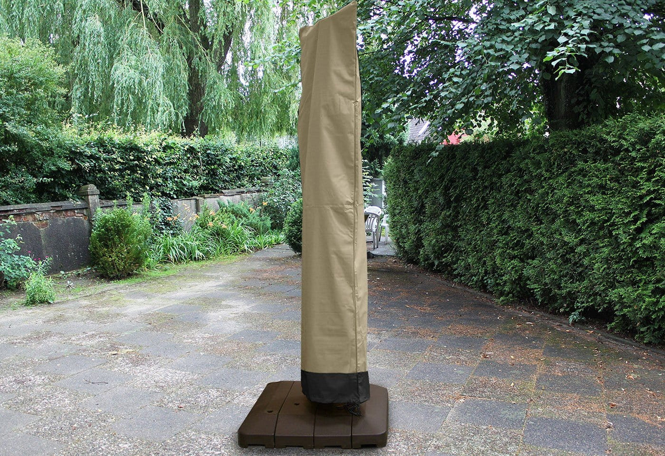 Patio Armor Offset Umbrella Cover
