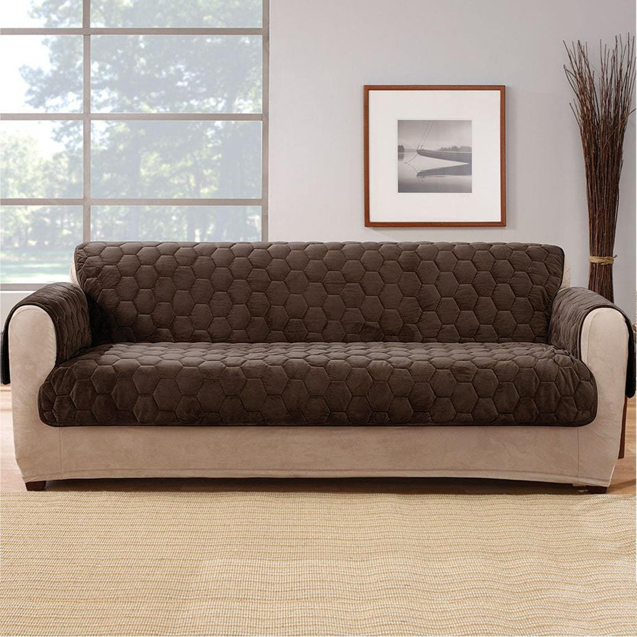 Silky Touch Sofa Furniture Cover | 100% Polyester | Pet Furniture Cover | Machine Washable