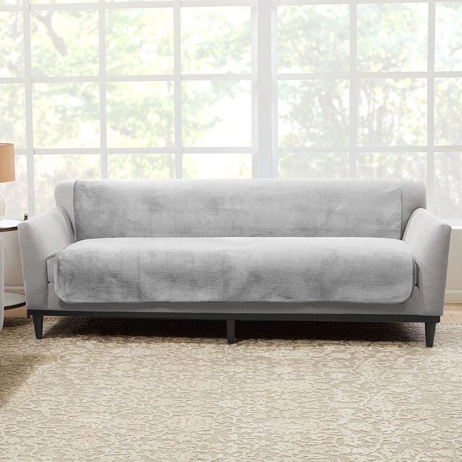 Awe Inspiring Luxe Sofa Furniture Cover Surefit Gmtry Best Dining Table And Chair Ideas Images Gmtryco