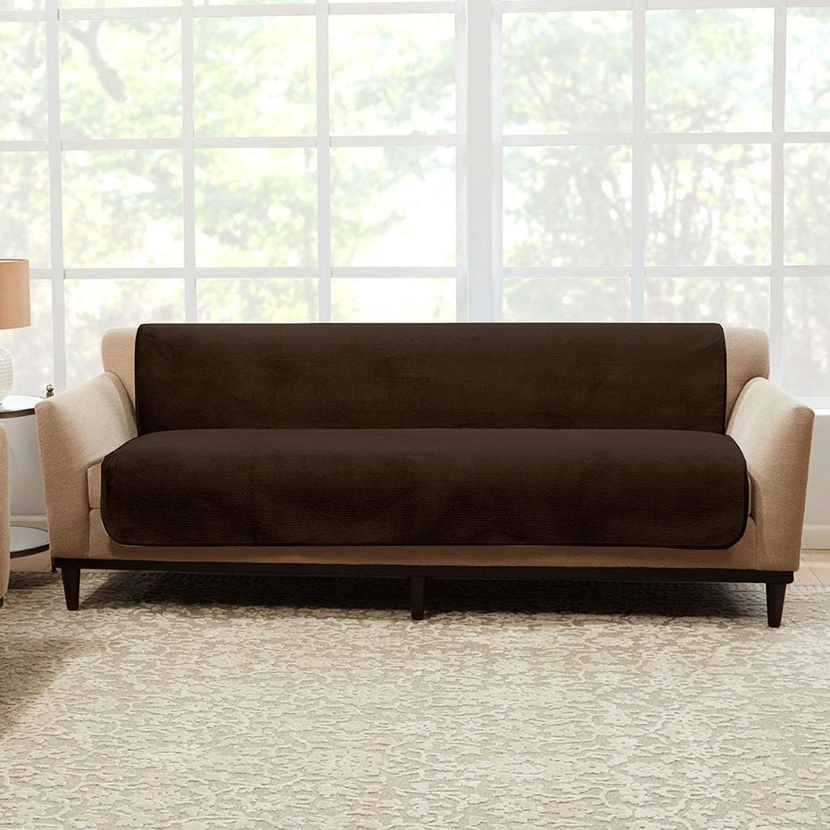 Pleasant Luxe Sofa Furniture Cover Surefit Gmtry Best Dining Table And Chair Ideas Images Gmtryco