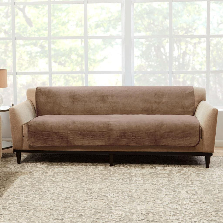 Fine Luxe Sofa Furniture Cover Surefit Gmtry Best Dining Table And Chair Ideas Images Gmtryco