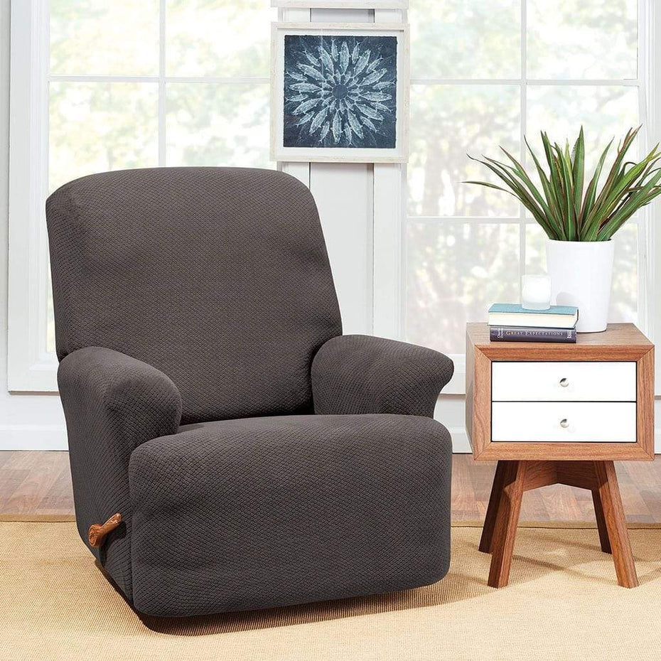 Stretch Hudson Recliner Slipcover | One Piece | Machine Washable