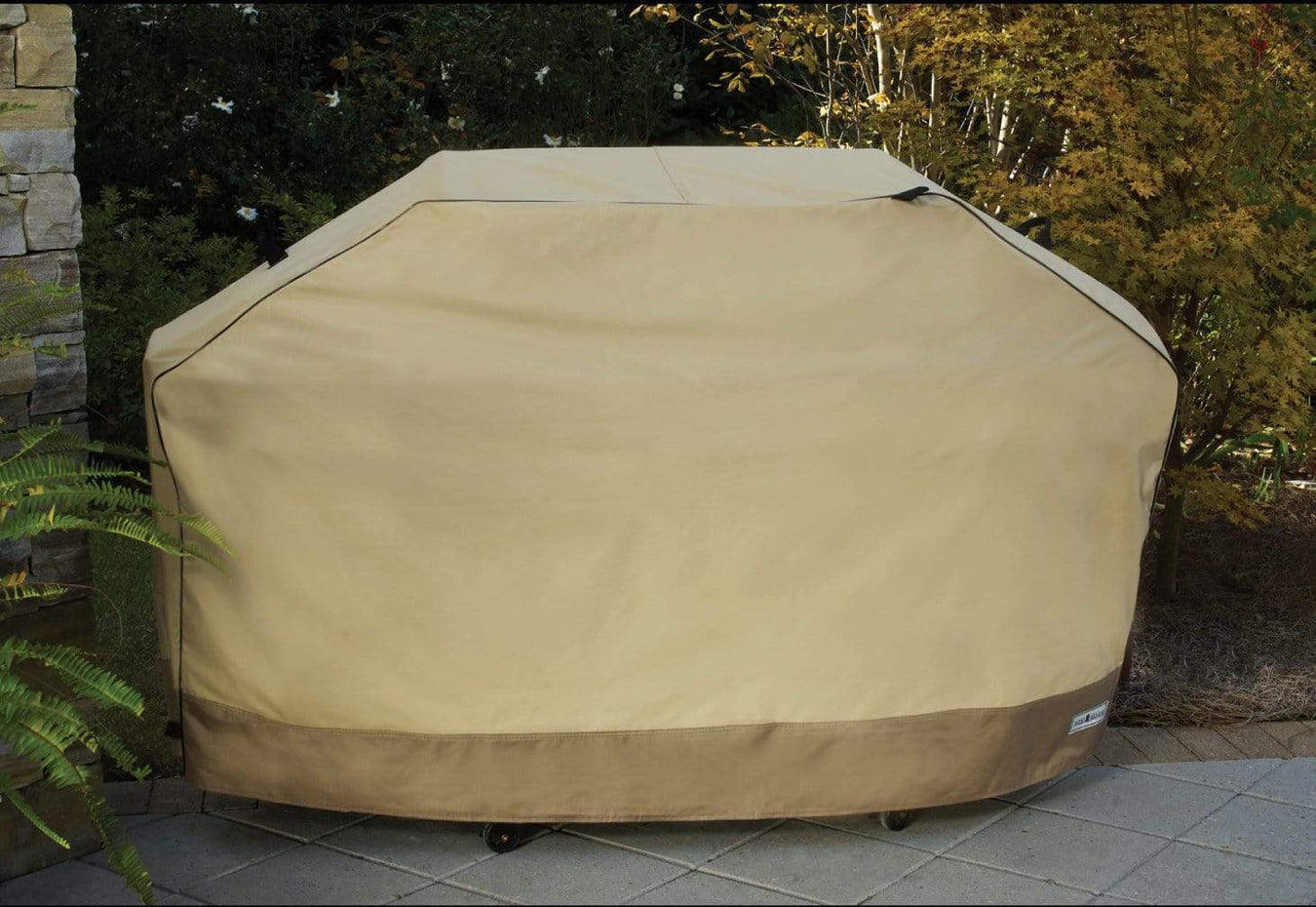 Patio Armour Outdoor Grill Cover Heavy Tan Grill Covers
