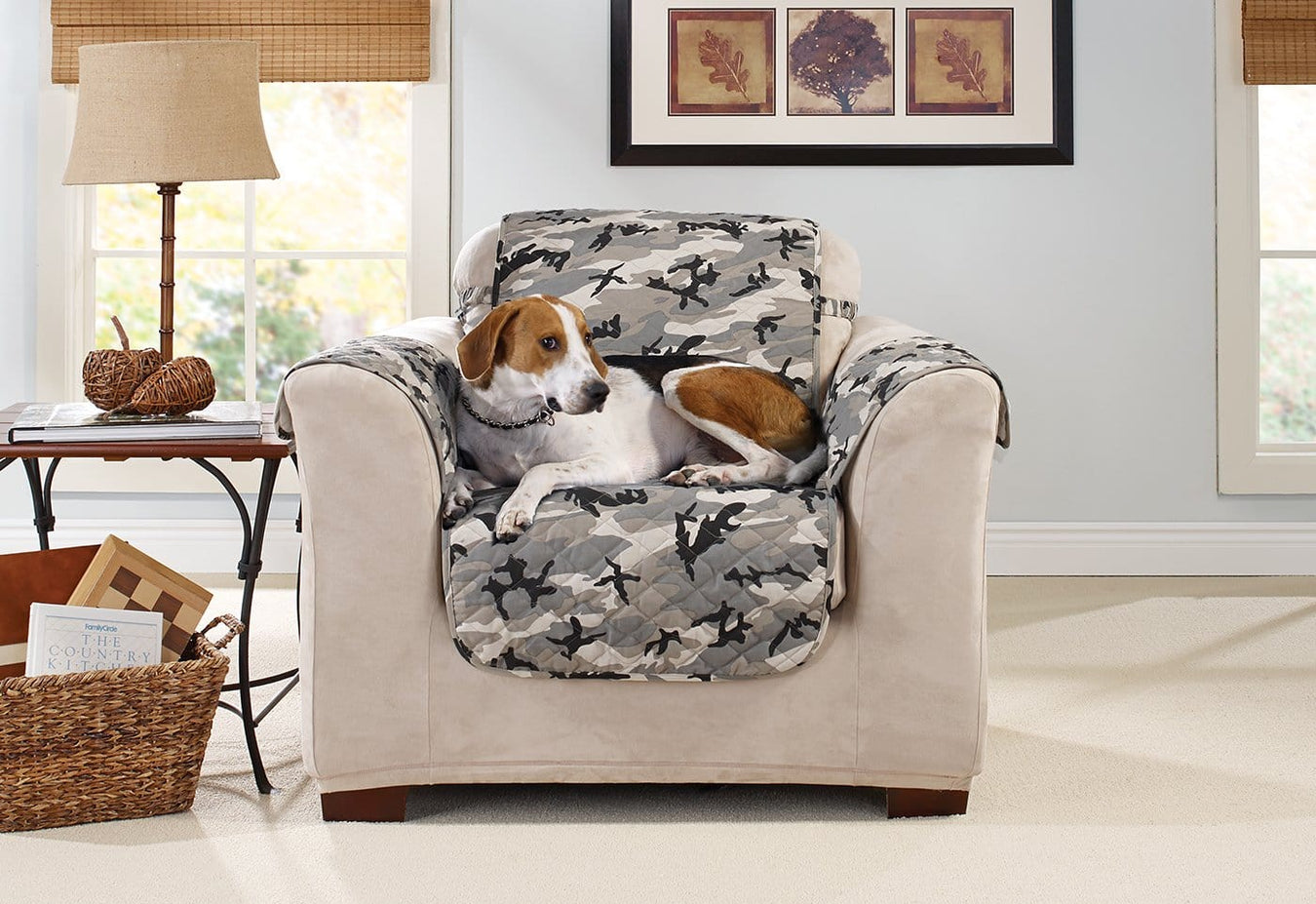 Camouflage Chair Furniture Cover Surefit