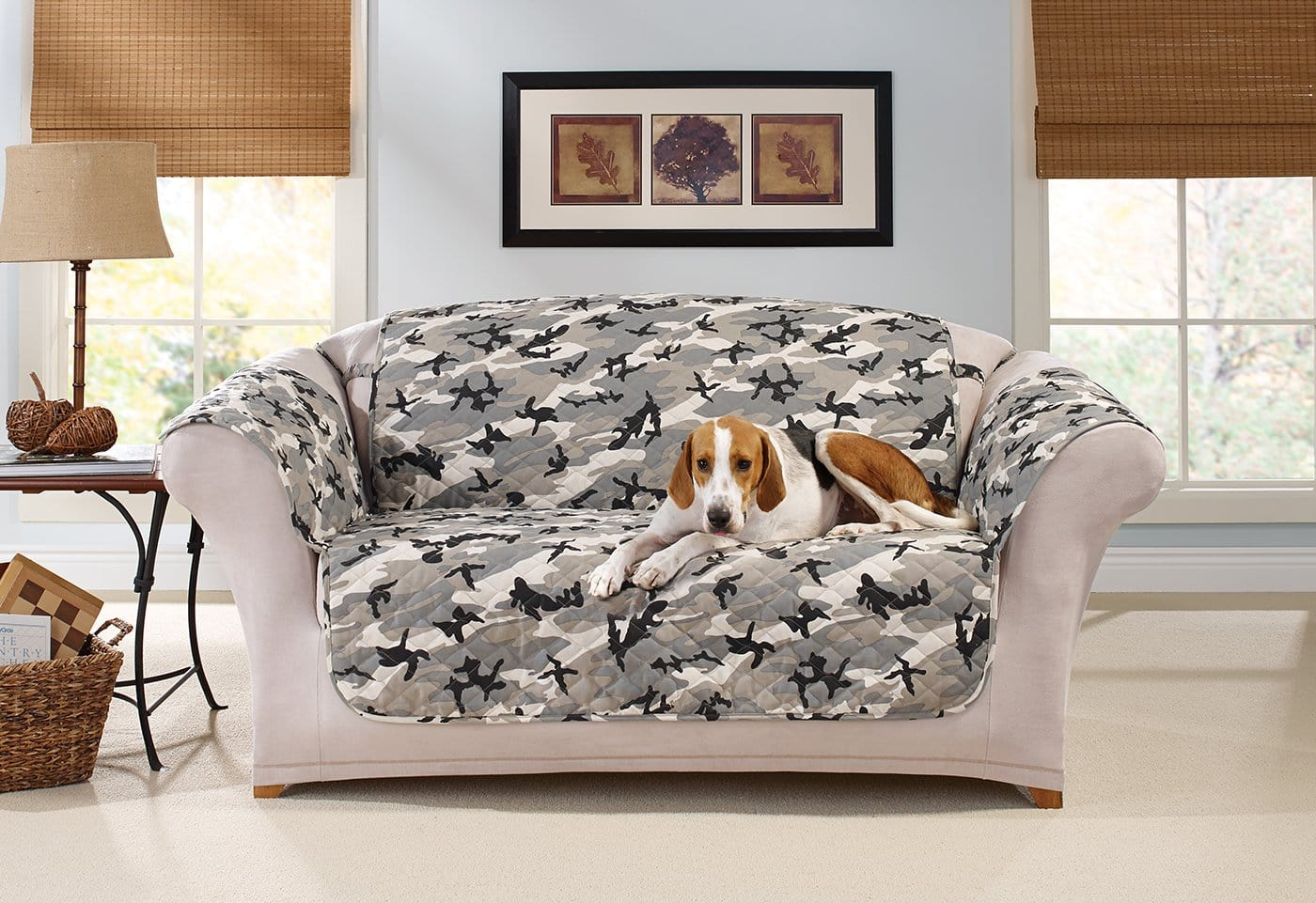 Camouflage Loveseat Furniture Cover U2013 SureFit