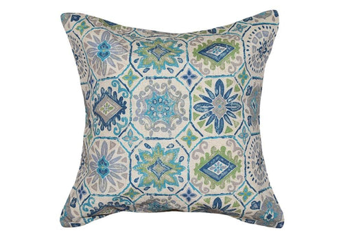 Cortona 20 Inch Square Decorative Pillow