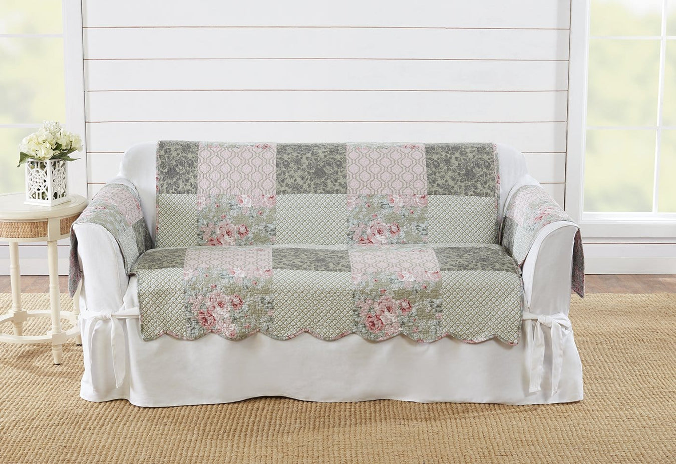 Deluxe Heirloom Reversible Loveseat Furniture Cover
