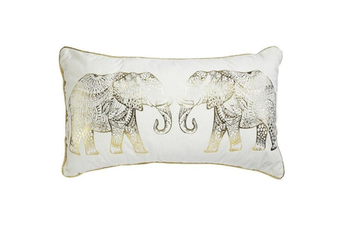 Elephant Good 14 Inch X 24 Inch Decorative Pillow