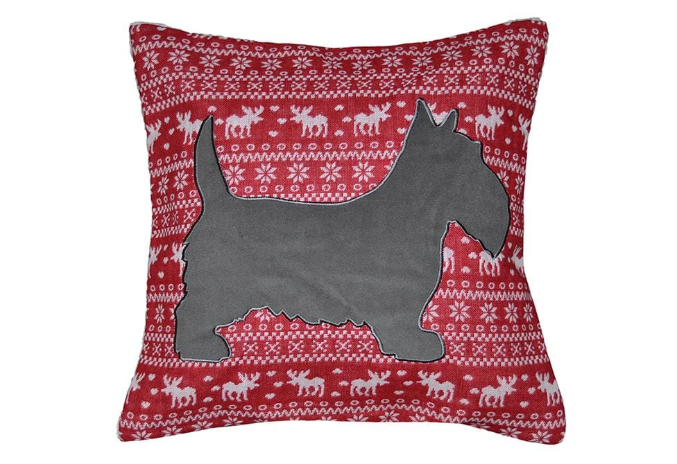 George Fleece 20 Inch Square Decorative Pillow
