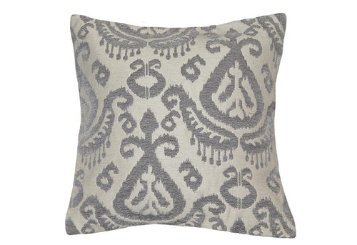 Ikat Two 20 Inch Square Decorative Pillow