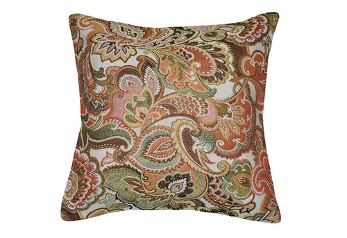Josetta Jacquard 20 Inch Square Decorative Pillow