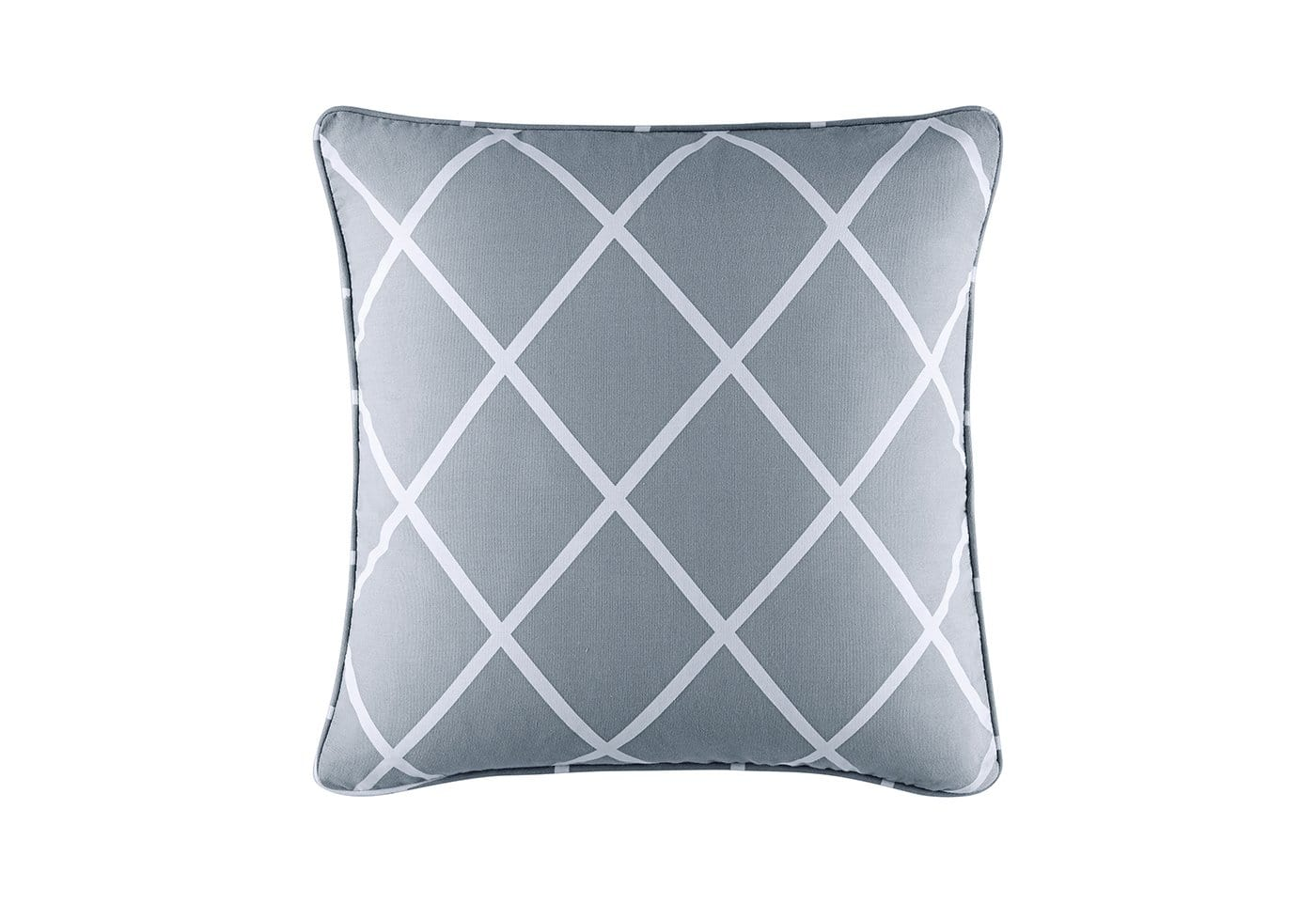 Lattice 18 Inch Square Pillow Cover - 18 x 18 / Pacific Blue