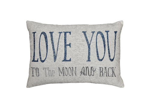 Love You To 14 Inch X 20 Inch Decorative Pillow