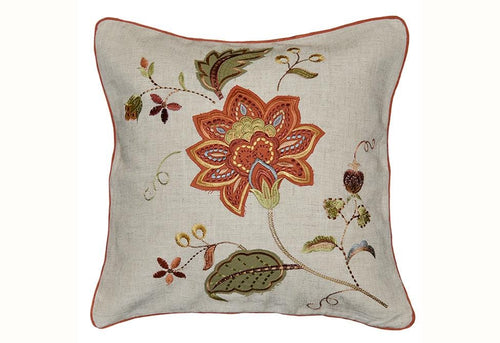 Lucretia 20 Inch Square Decorative Pillow