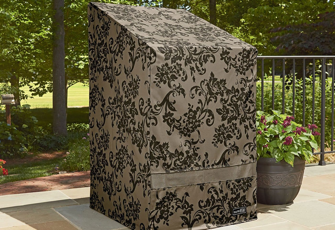 Patio Armor Stack Of Chairs Outdoor Furniture Cover