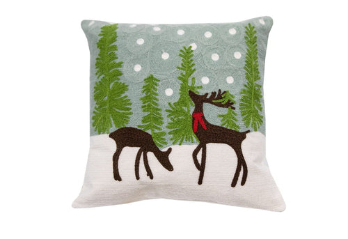 Reindeer Games 18x18 Decorative Pillow