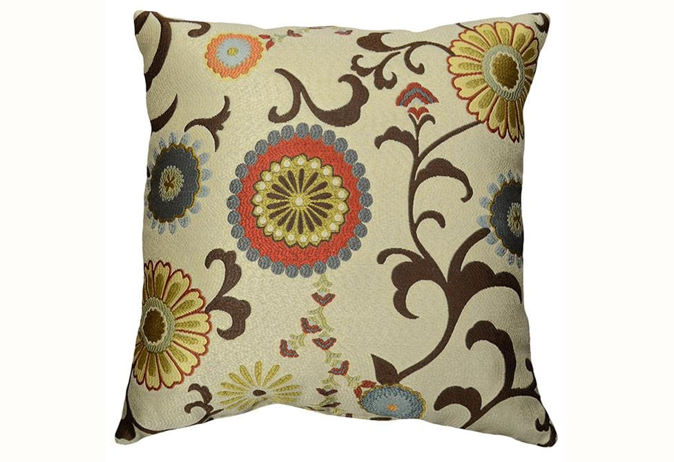 Renata 18 Inch Square Decorative Pillow