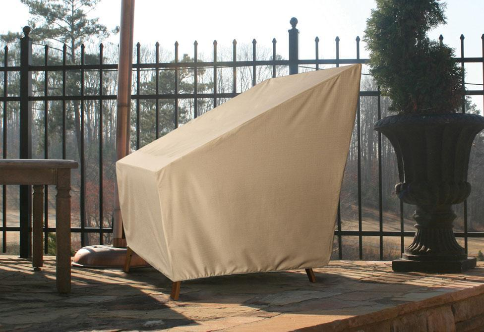 Patio Armor Large Chair Outdoor Furniture Cover - Taupe