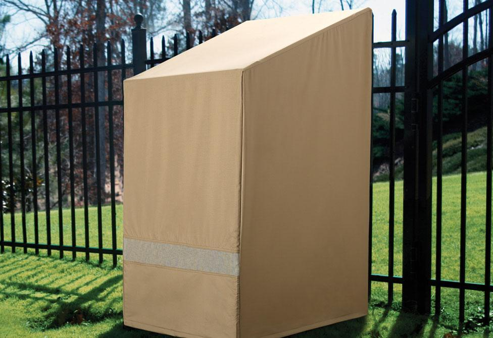 Patio Armor Chairs Outdoor Furniture Cover - Taupe