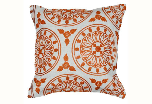 Stonecutter 20 Inch Square Decorative Pillow