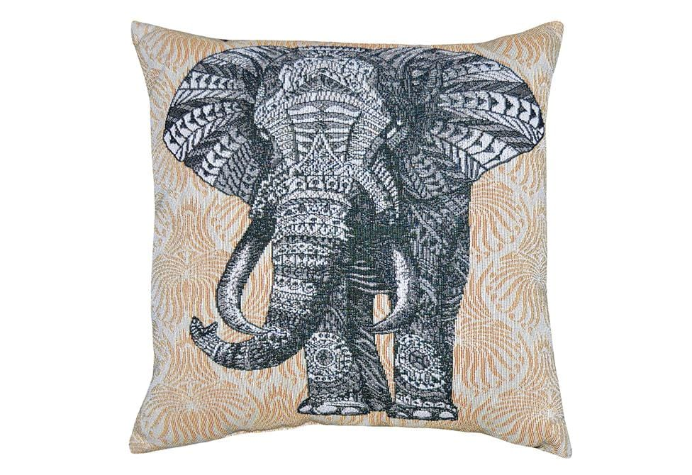 Tantor 18 Inch Square Decorative Pillow