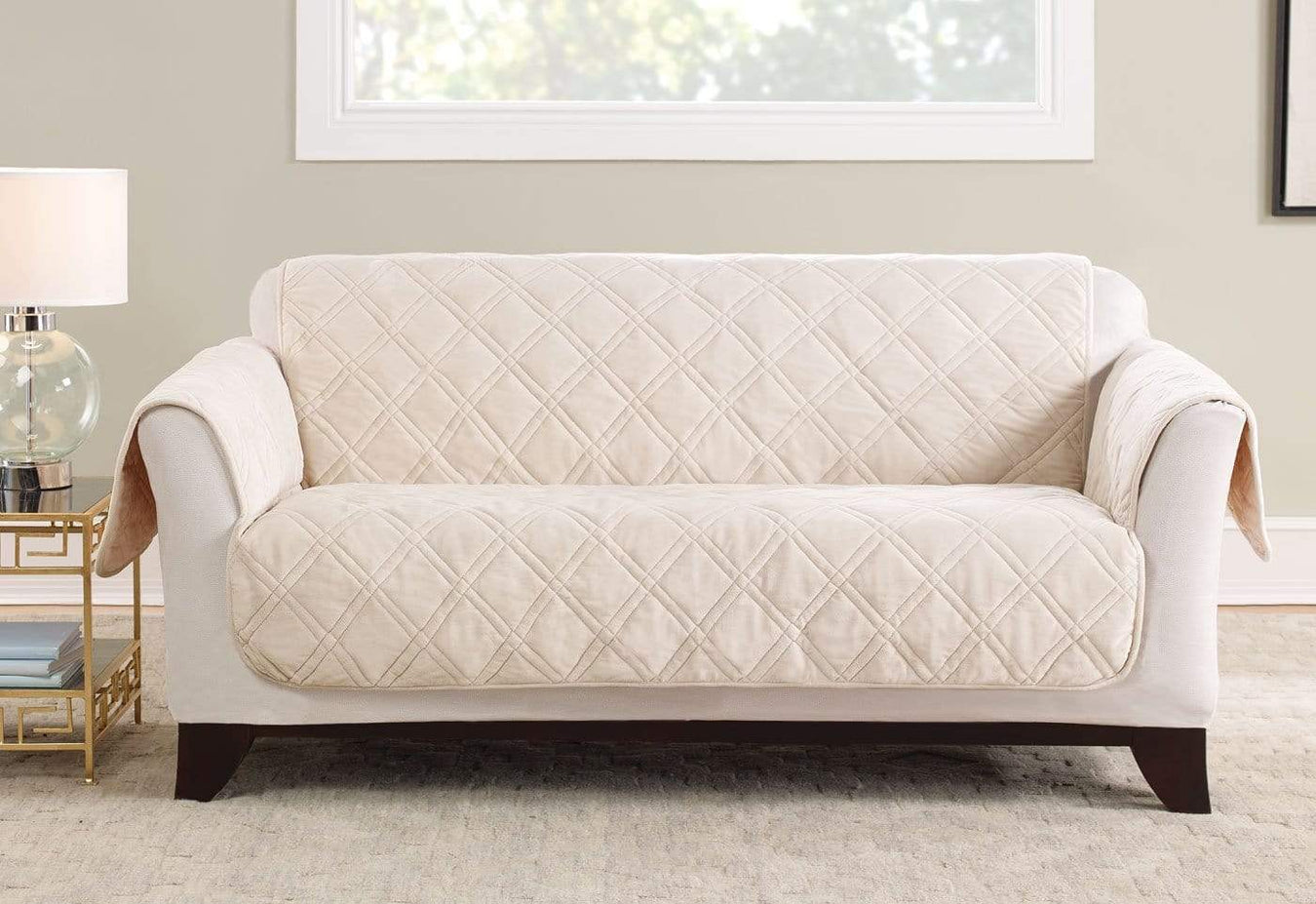 Triple Protection Loveseat Furniture Cover