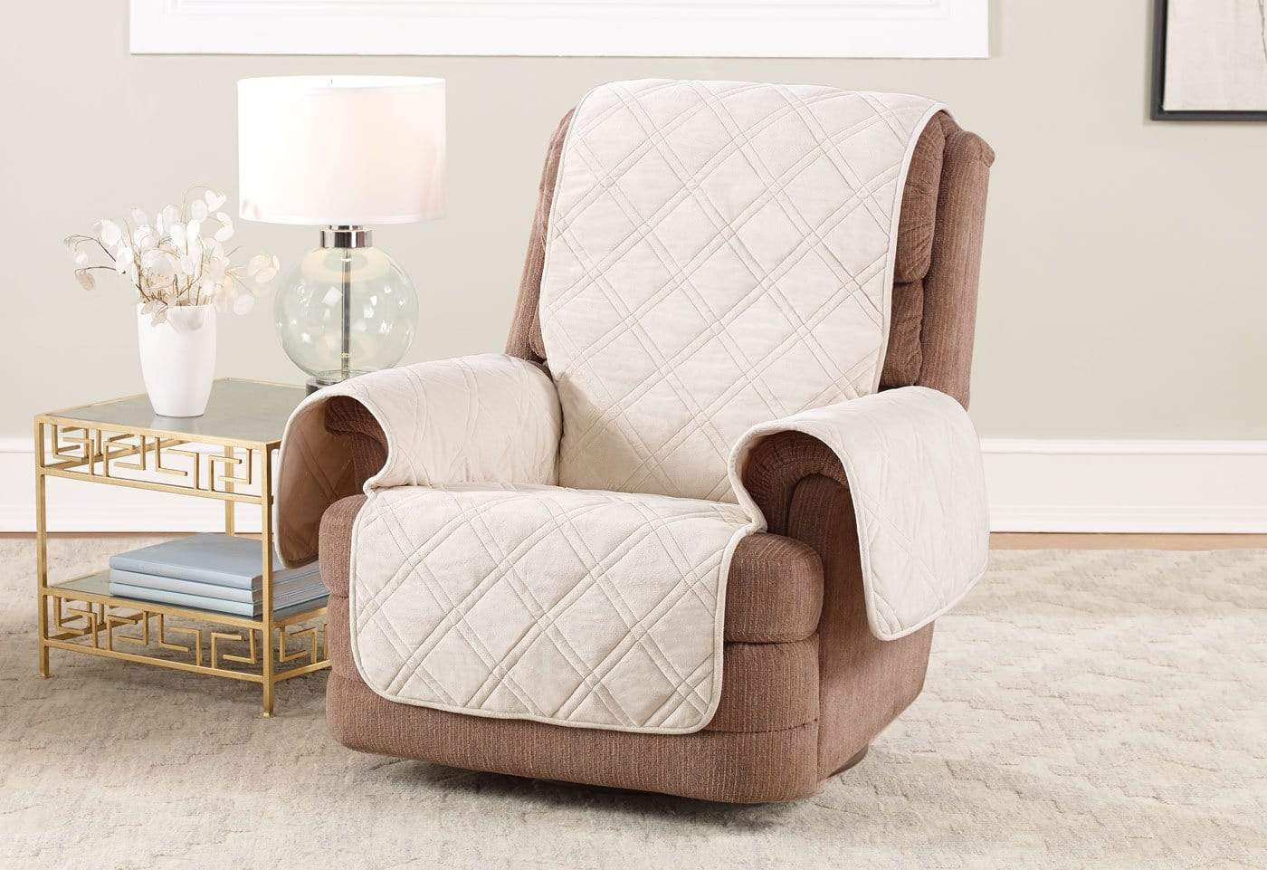 Triple Protection Recliner Furniture Cover