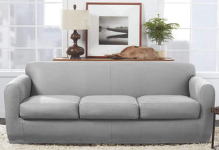 Stretch Leather One Piece Recliner Slipcover Surefit