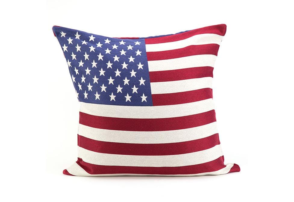 Washington 18 Inch Square Decorative Pillow