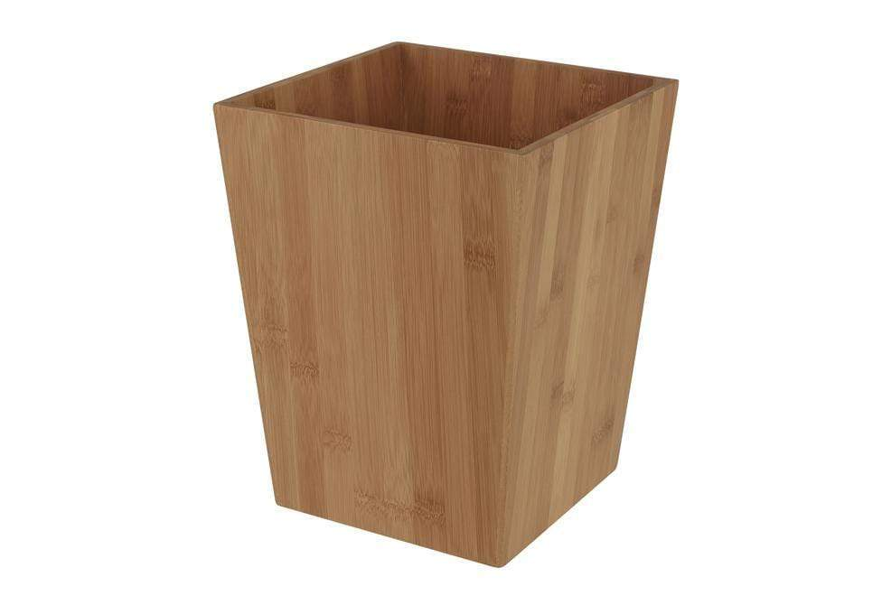 Zen Collection Wastebasket - Bamboo