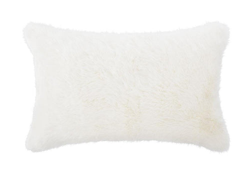 Annika Fur 18 Inch Square Decorative Pillow