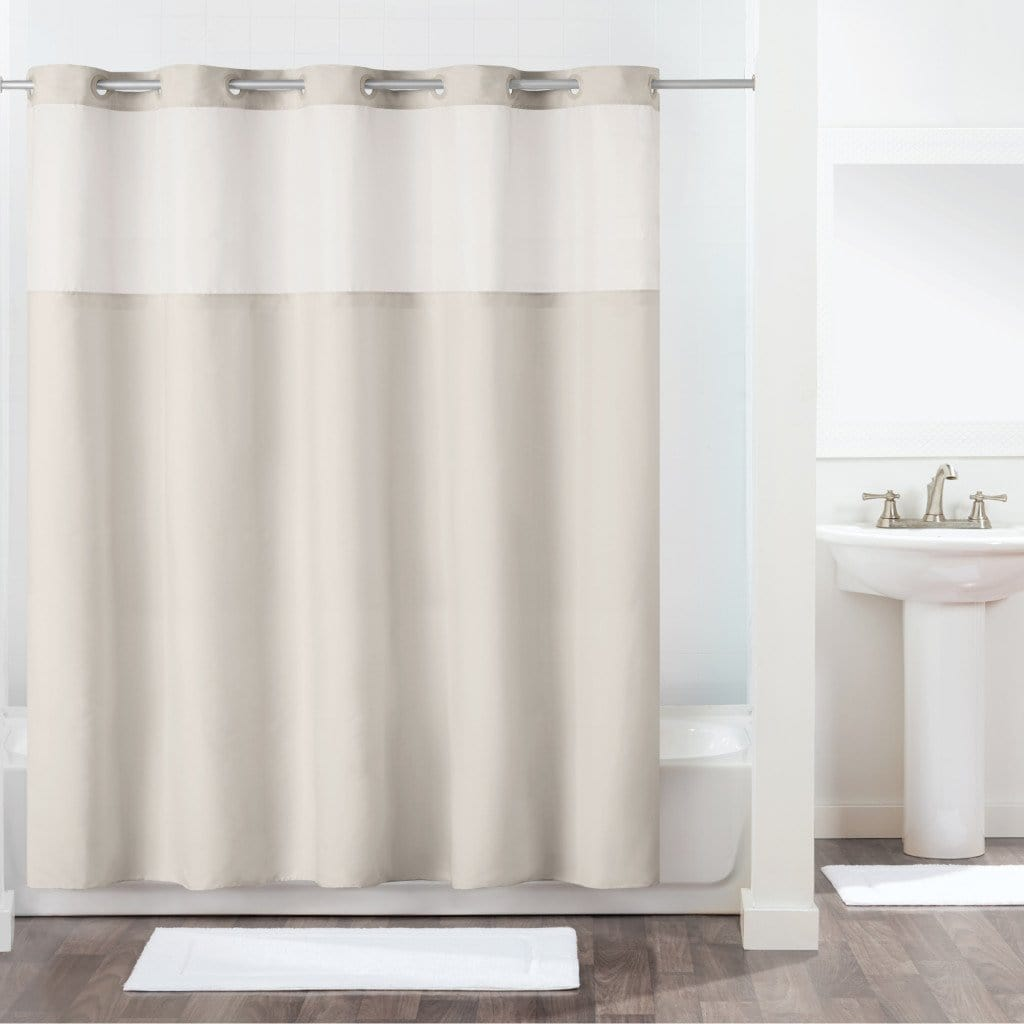 Antigo Hookless® Shower Curtain - 71 x 74 / Silver Gray