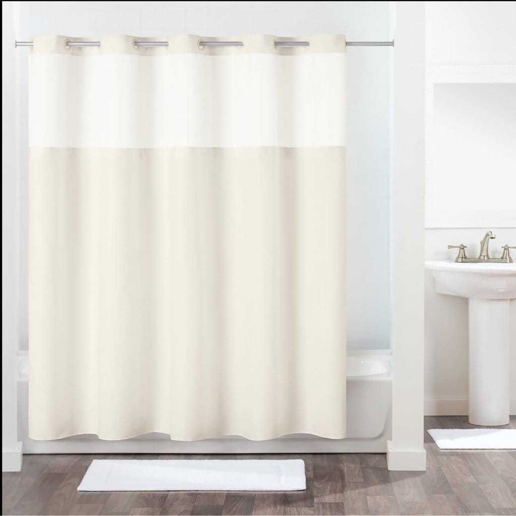Antigo Hookless® Shower Curtain - 71 x 74 / Ivory