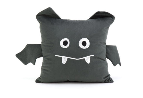 Batty 14 Inch Square Decorative Pillow
