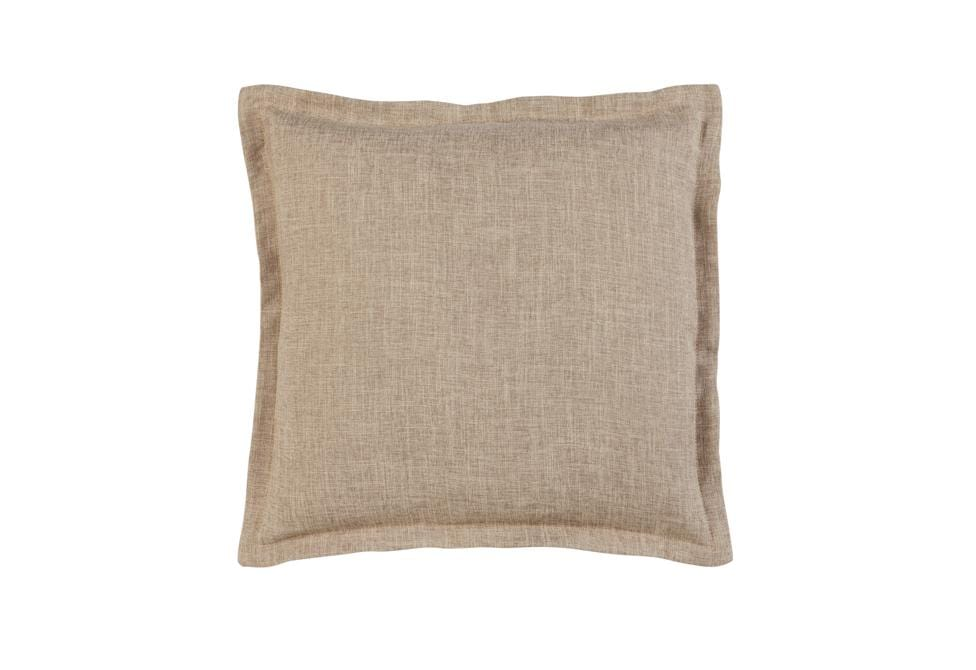 Textured Linen 20 Inch Square Pillow Cover