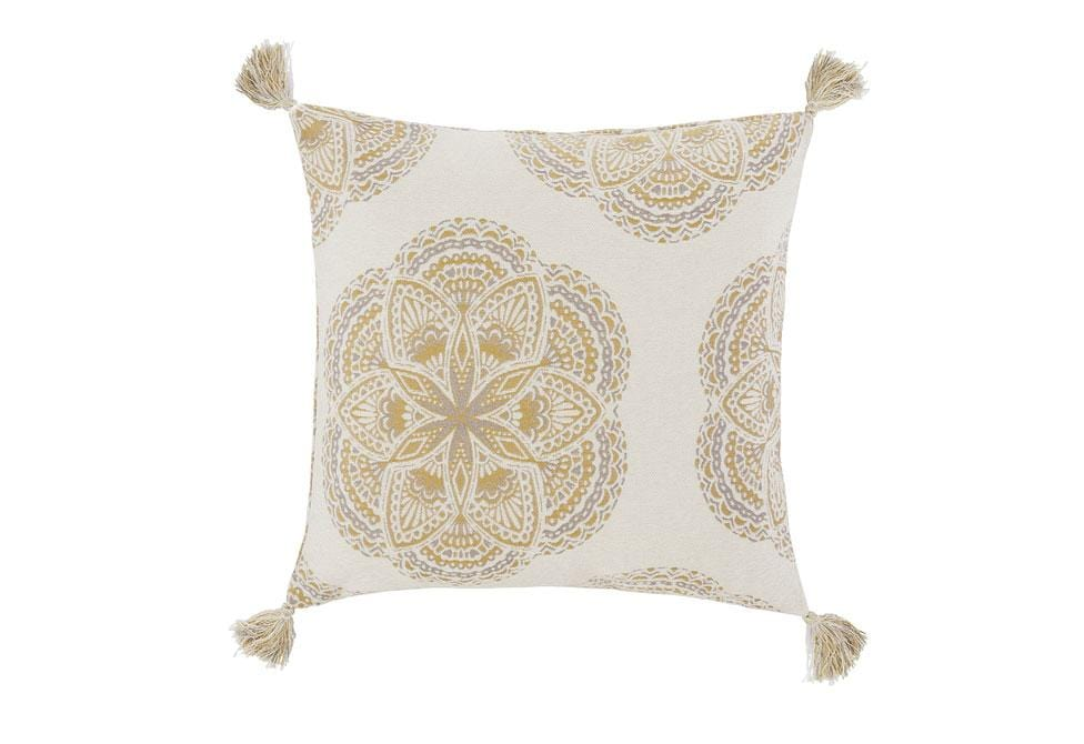Binxie 20 Inch Square Decorative Pillow