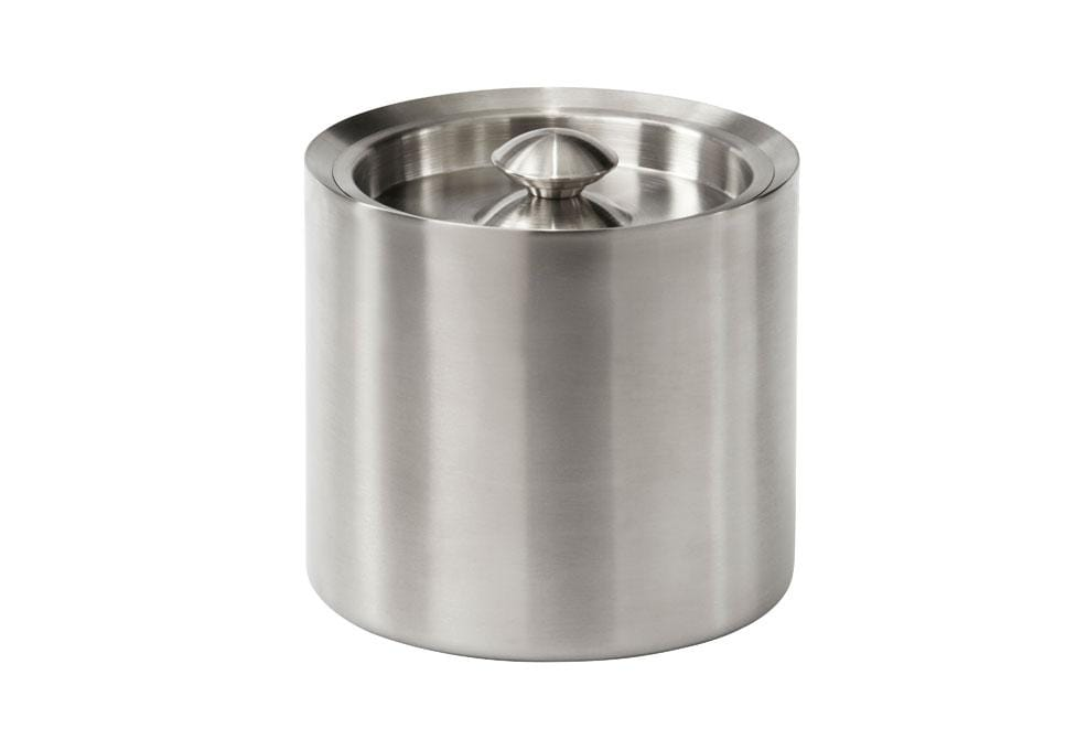 Barware Brushed Metal Ice Bucket - Brushed Metal