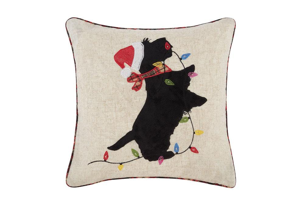 Charlies Christmas Lights 20 Inch Square Decorative Pillow