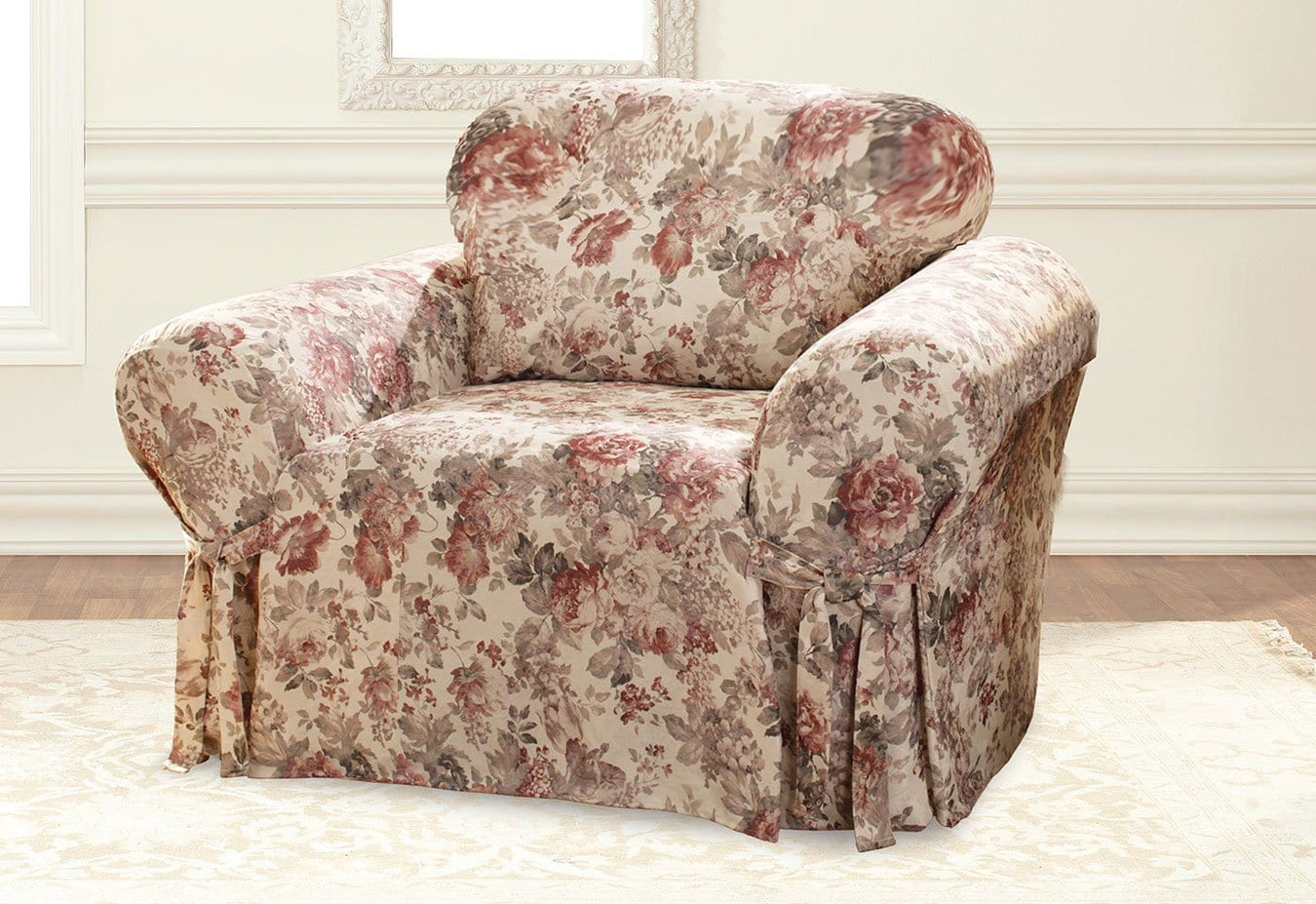 Chloe One Piece Chair Slipcover