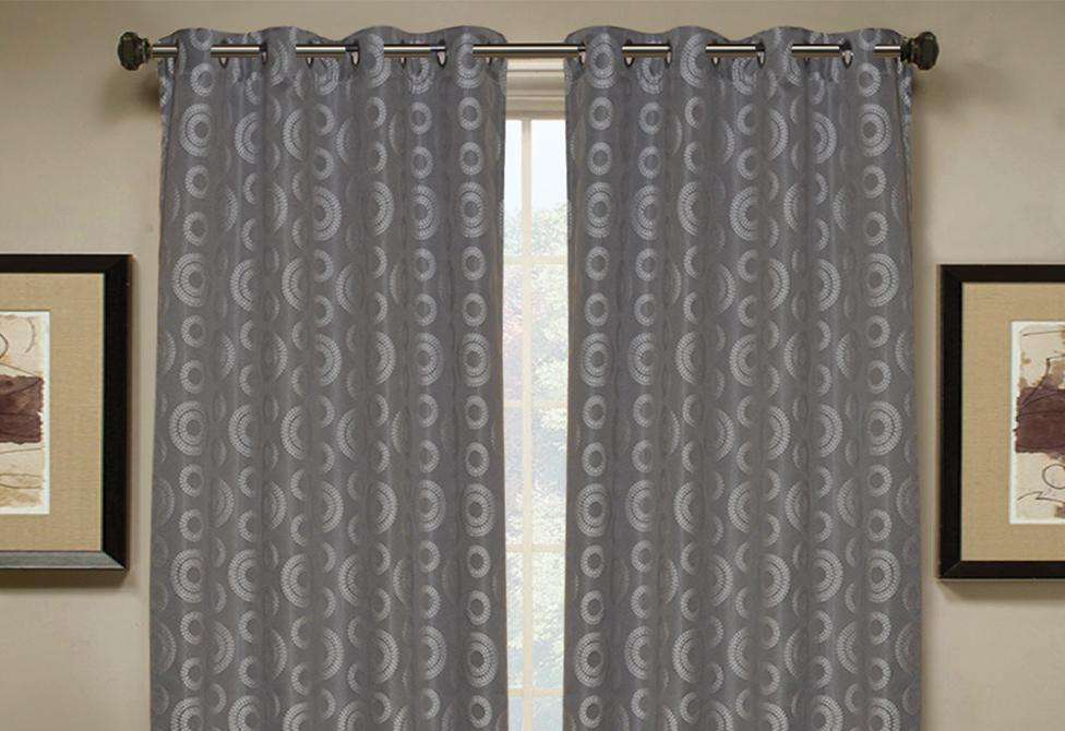 Circle Geo Window Curtains