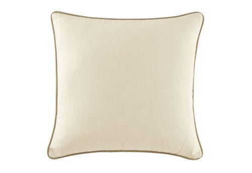 Cotton Canvas 18 Inch Square Pillow Cover