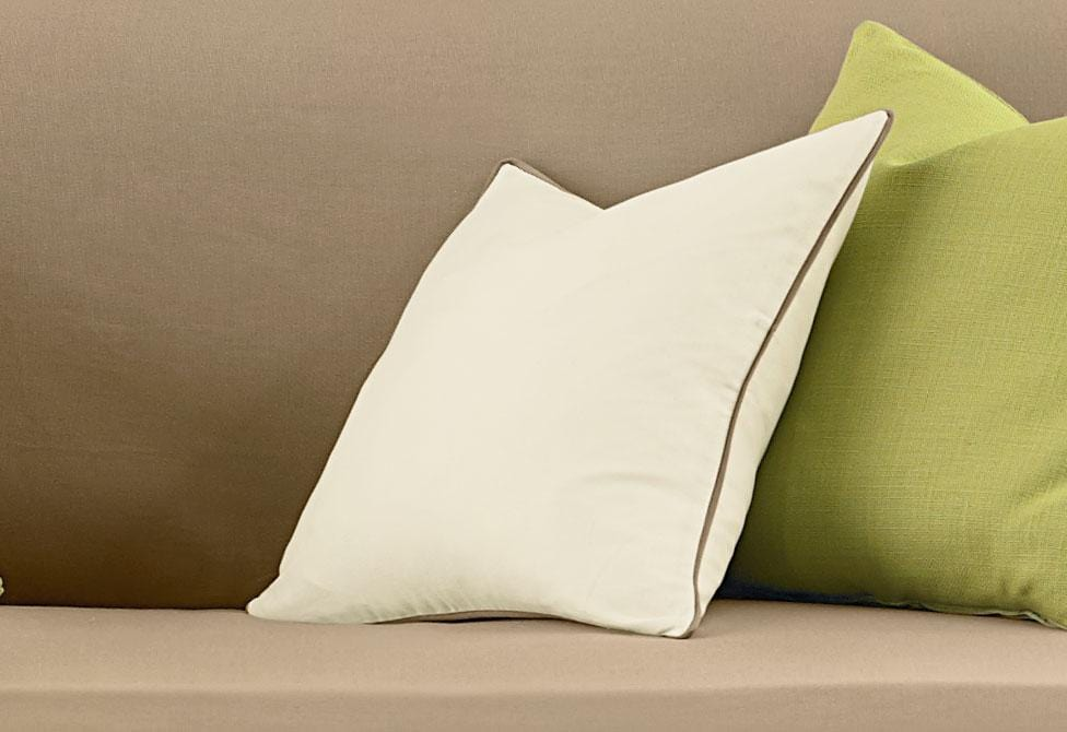 Cotton Canvas 18 Inch Square Coordinating Pillow