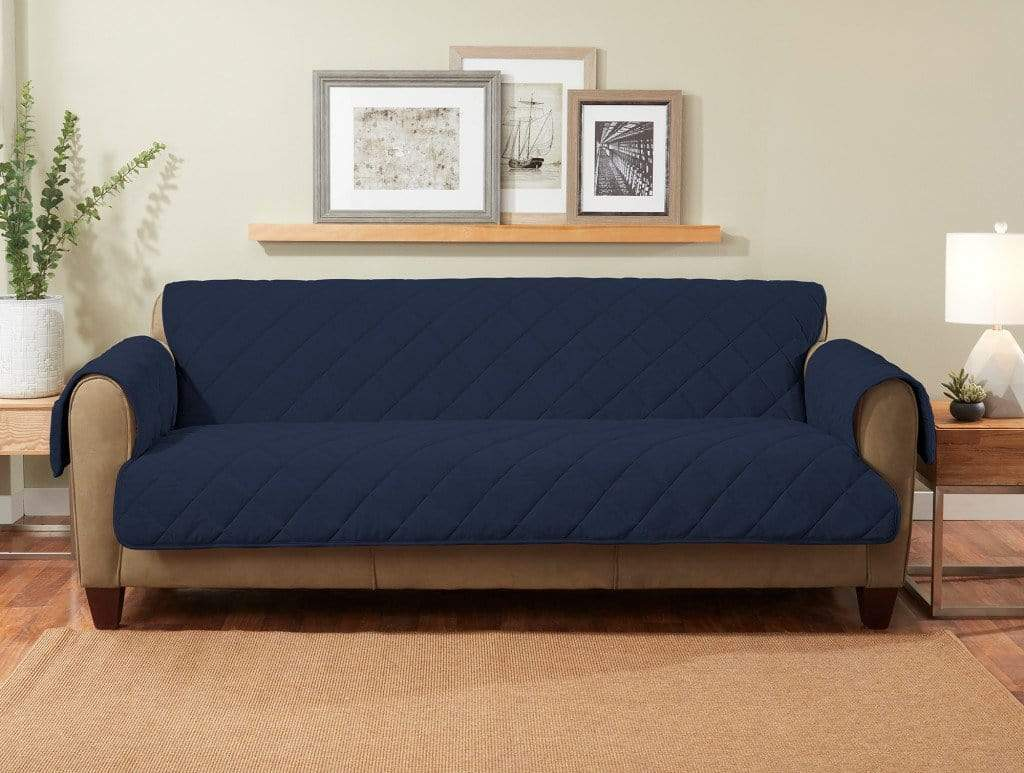 Enz cozy twill with sofa furniture cover storm blue