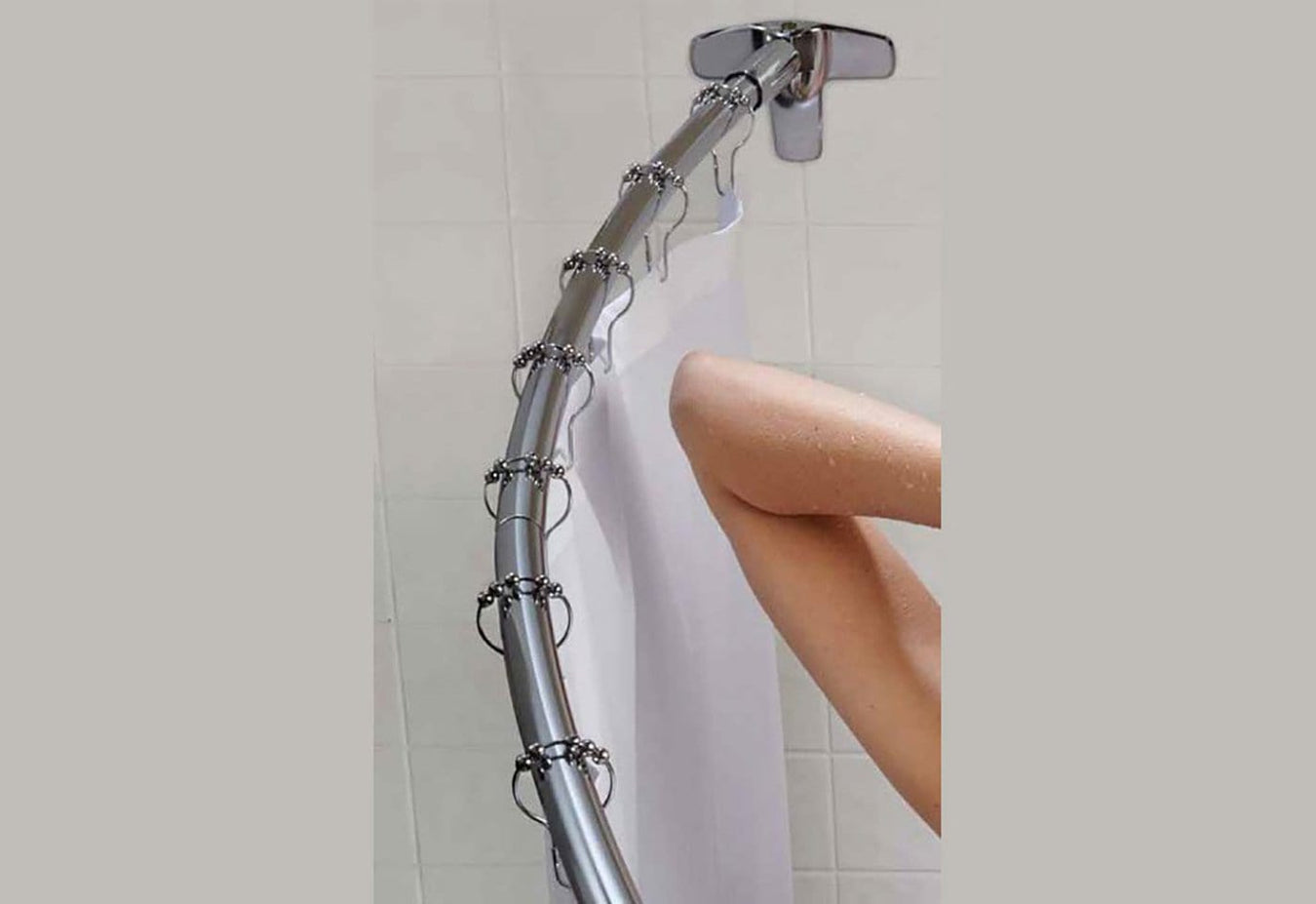 Durahold Curved Shower Rod