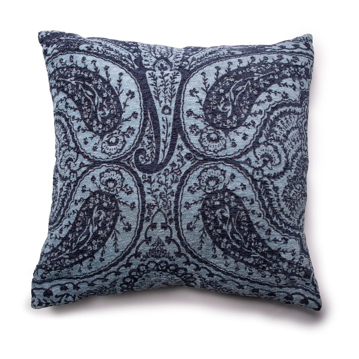 "Davet 20"" Square Decorative Pillow - 20 X 20 / Blue"