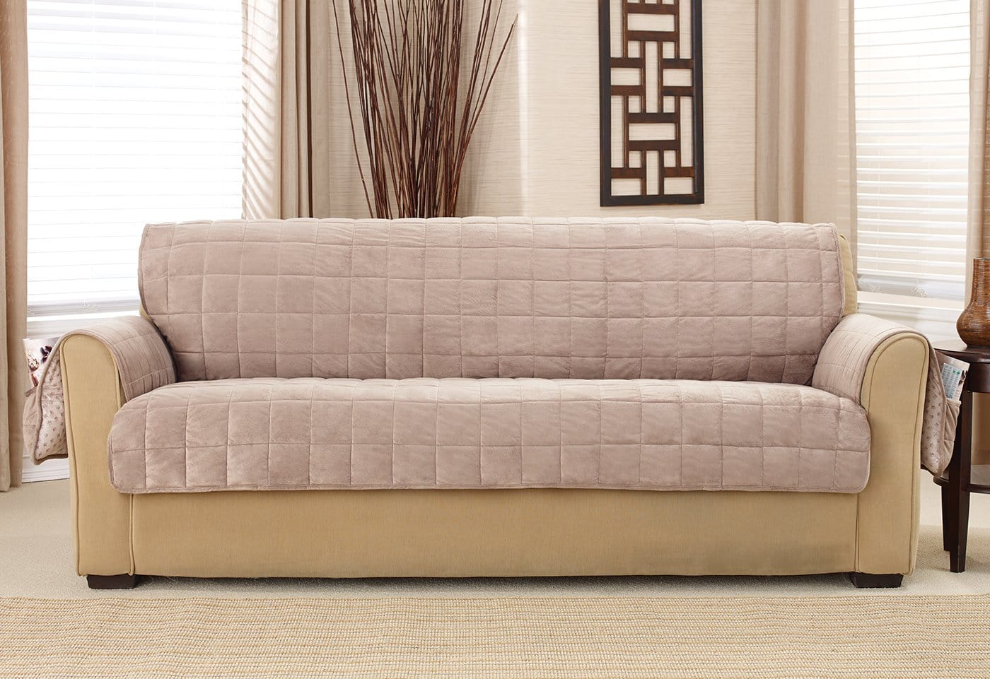 Sofa covers Pet Deep Pile Velvet Furniture Sofa Covers Surefit Deep Pile Velvet Furniture Sofa Covers Surefit